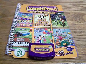 Leap Frog LeapPad Leap'Spond Activity Game Book Book Cartridge Educational
