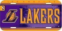 Car Auto License Plate Los Angeles Lakers Basketball