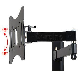 "Full Motion Tilt Swivel Wall Mount for Samsung LG Vizio 22 42"" LCD LED HD TV 1GS"