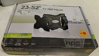 "OmniMount OL125C Full Motion TV Wall Mount Black for 23"" 52"" LCD Display New"