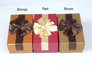 Christmas Holiday Gift Boxes 4 Favor Jewelry Wedding Baby Shower Birthday