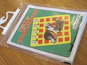 Animal Characteristics Bingo Bag Game Educational Impressions Learning Tutor New