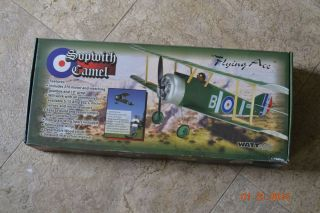 "Sopwith Camel ""Flying Ace"" Wattage Electric 370 Motor Foam Model Airplane Kit"