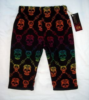 New Halloween Punk Skeleton Toddler Baby Pants Clothes
