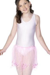 Girls Tutu Underslip Pink Fancy Dress Crinoline Petticoat Underskirt Age 7 8 9