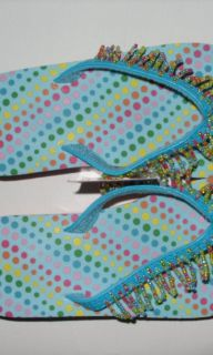 Girl's Toddler Shoes Sandals Flip Flops Size 9 10 10 11 Jumping Beans Girls