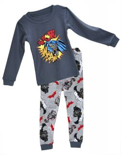 "Baby Toddler Clothing Kids Boys' Sleepwear ""Superman "" Pajamas Set 2 7Y"