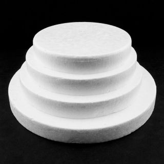 White Smooth Foam Disc Science Project Wedding Centerpiece Floral Decorating