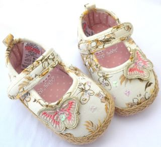 Pink Bows Mary Jane Toddler Baby Girl Shoes Size 2 3 4