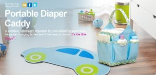 Multi Function Baby Portable Diaper Nappy Changing Bag Storage Organizer 2 Color