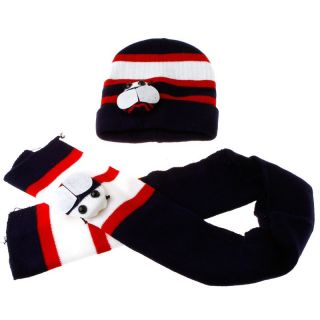 Baby Girl Boy Toddler Cute Beanie Winter Bee Ladybug Hat Cap Scarf Suit H3101DB