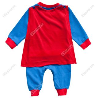Superman Baby Kid Toddler Onesie Bodysuit Romper Jumpsuit Outfit Cloth One Piece