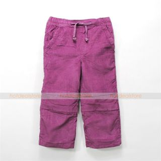1 4 Years U Pick Kids Baby Toddlers Boys Girls Cotton Corduroys Pants FA1307