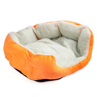 Hot Sell Luxury Warm Round Unique Soft Pet Dog Cat Bed Medium Lovely Cute Oran