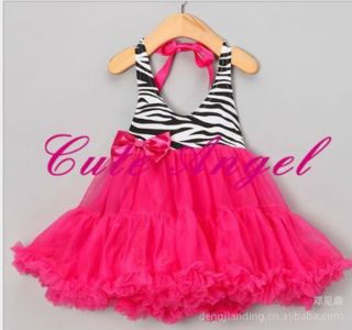 Kids Baby Girls Children Veil Clothing Bow Tutus Princess Dress One Piece 2 6 Y