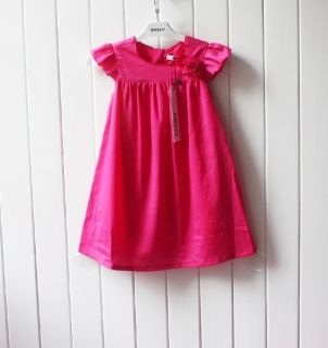 Cuties' DKNY Kids Girl Toddler Elegant Pink Dress Great for Summer Size 2 7