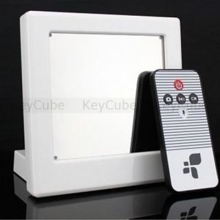 Security Camera Remote Control Hidden Spy Camera DVR HD Video Mirror Clock F8