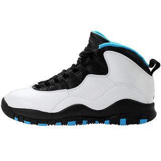 Nike Air Jordan Retro 10 Mens 310805 106 Powder Blue Basketball Shoes Size 11