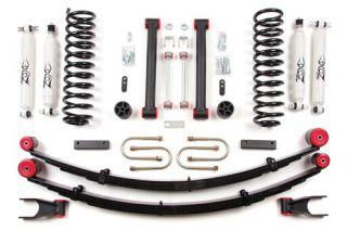 "1984 2001 XJ Jeep Cherokee 4 5"" Suspension Lift Kit Zone Offroad w Dana 35 Rear"