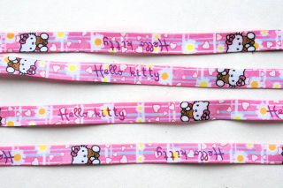 Hello Kitty Shoelaces Girls Women 46in 117cm Lacets Filles Femmes 1pc or Lot