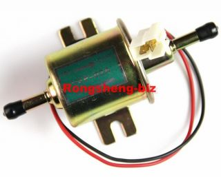 New Universal in Tank Fuel Pump Inline Carburator 12V for Chevy Toyota Ford