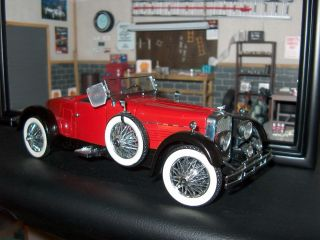 1928 Stutz Black Hawk Boat Tail Speedster Franklin Mint