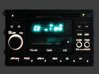 Nissan Altima Maxima Pathfinder Sentra Radio Stereo Tape Cassette CD Player