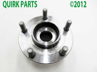 03 07 Nissan Murano 04 07 Quest Front Wheel Hub and Bearing Genuine New