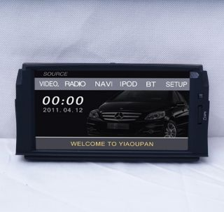 Car DVD Player GPS Navi Radio for Mercedes Benz C Class C180 C200 C260 C280