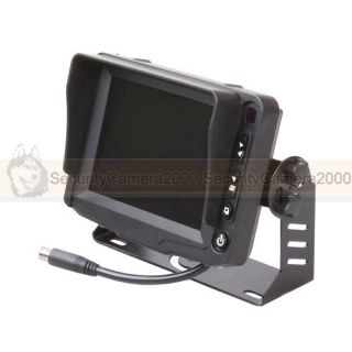 5'' Color TFT LCD Car Monitor 640 x 480 Resolution for Vehicle Security System
