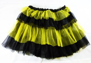 New Adult Bumble Bee Tutu Insect Bug Fancy Dress