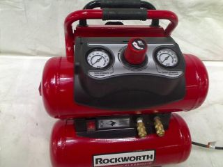 Rockworth RW1504ST 4 Gallon Factory Reconditioned Portable Air Compressor