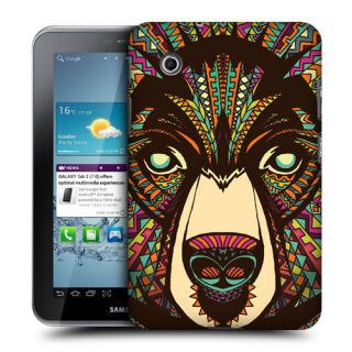 Head Case Aztec Animal Faces Back Case for Samsung Galaxy Tab 2 7 0 P3100 P3110