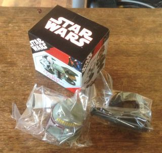 Takara Tomy Star Wars Miniature Mini Helmet Collection 2 Boba Fett SEALED