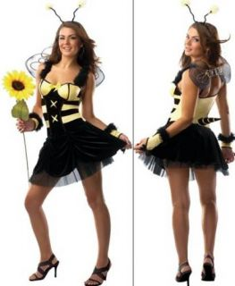 Sexy Stinger Bee Halloween Costume Womens Medium Large New