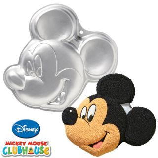 New Wilton Disney Mickey Mouse Clubhouse Cake Pan Face
