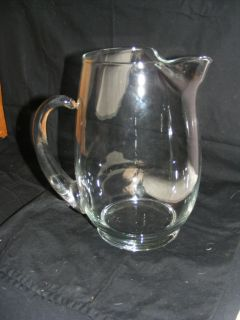 Large Glass Water Pitcher Kitchen Deco Lemonade Pitcher