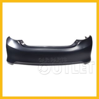 2012 Camry Rear Bumper Facial Cover Primed Plastic Hybrid Le XLE Brand New Part