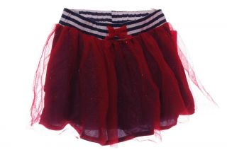 Girls Red Blue Glitter Skirt Tutu Ballet Dress Up 6 6X 7 8 10 12 14 16 New