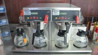 Curtis Scalp 6GT Commercial Double Coffee Brewer Maker with 6 Warming Hot Plates