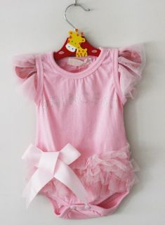 1pc Kid Baby Girl Princess Short Top Dress Romper One Piece Costume Clothing
