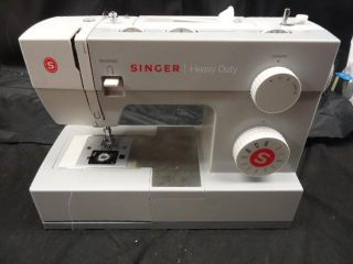 Singer 4411 Model Heavy Duty Sewing Sergers Machine White