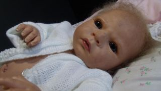 """Zuccherobambino"" Soft and Cuddly Reborn Baby Doll Sabrina by Reva Schick"