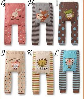 Baby Toddler Busha Boy Girl Pants Leggings Tights Socks 3 Sizes Ships from NY