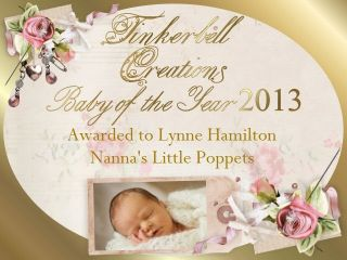 Gorgeous Baby Girl Julietta Sold Out Ed Nanna's Little Poppets Awards Hold