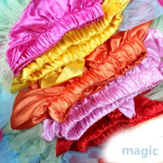 Stylish Multi List Multi Color Pettiskirt Bow Knot Dance Tutu Dress Skirt 1 7Y