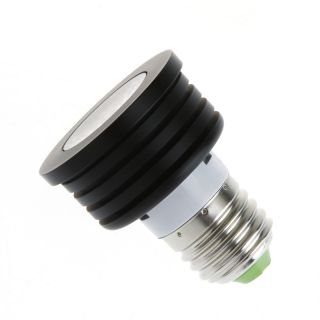 2X E27 4W LED Light Bulb Lamp Spotlight with Remote Control RGB