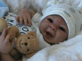 Beautiful Reborn Baby Boy Doll from 'Linzi's Beautiful Babies'