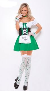 Sexy Dutch Beer Girl Outfit Costume Halloween Fancy Dress Cosplay Party M L XL