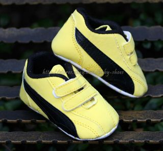 Toddler Baby Boy's Girl's Crib Shoes Walking Sneakers Size 3 6 6 12 12 18 Months